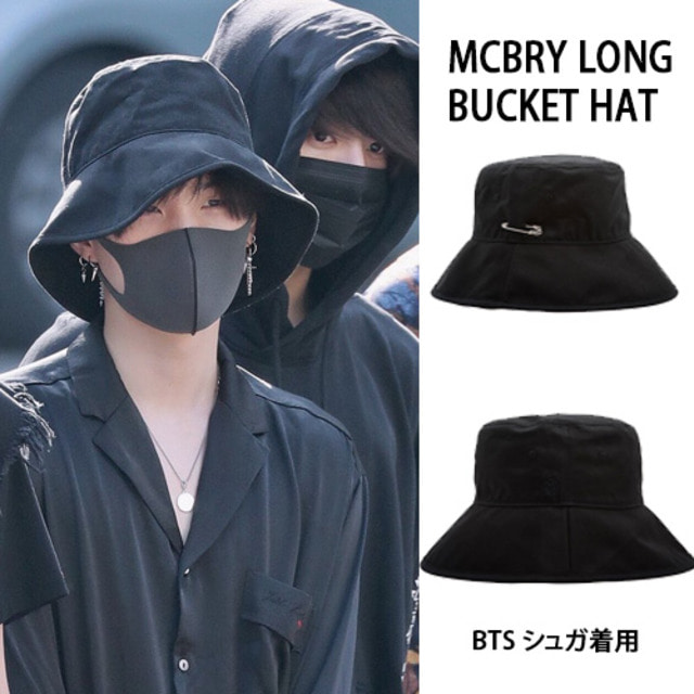 [MACK BARRY] MCBRY LONG BUCKET HAT_BTS