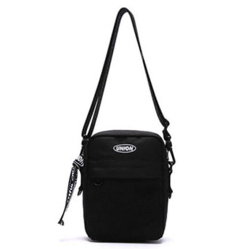 [UNIONOBJET]UNION SUPER CROSS BAG BLACK