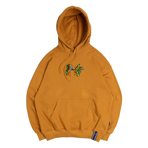 [ROMANTIC CROWN] DANCHEONG HOODIE YELLOW