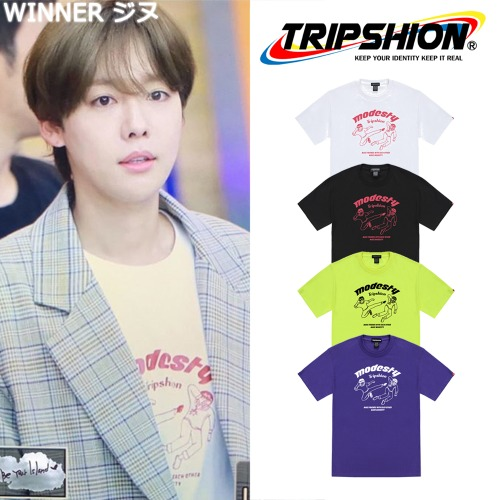 [TRIPSHION] FIGHTING KICKS TS 4COLOR_WINNER