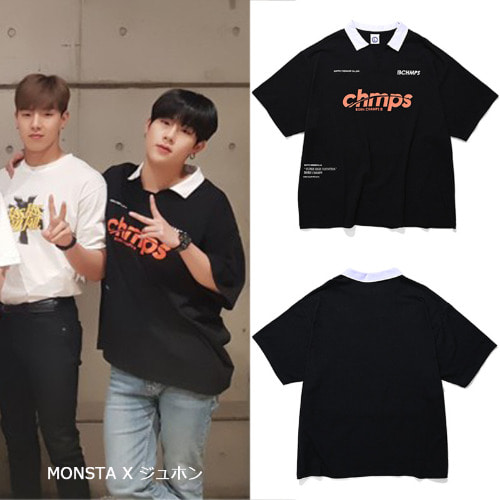 [BORNCHAMPS] CHMPS 1988 HEAVY SHIRTS CESBMTS10BK_MONSTAX