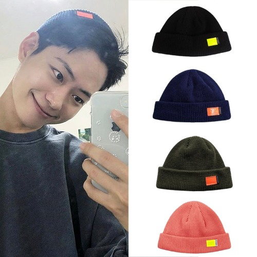 [RUNDS] FLUORESCENCE WATCH CAP 4COLOR_PRODUCEX