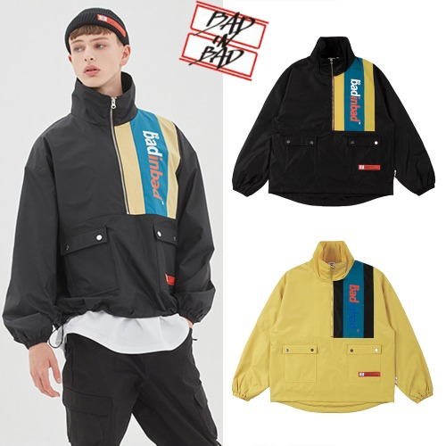 [BADINBAD] BACK POCKET ANORAK 2COLOR