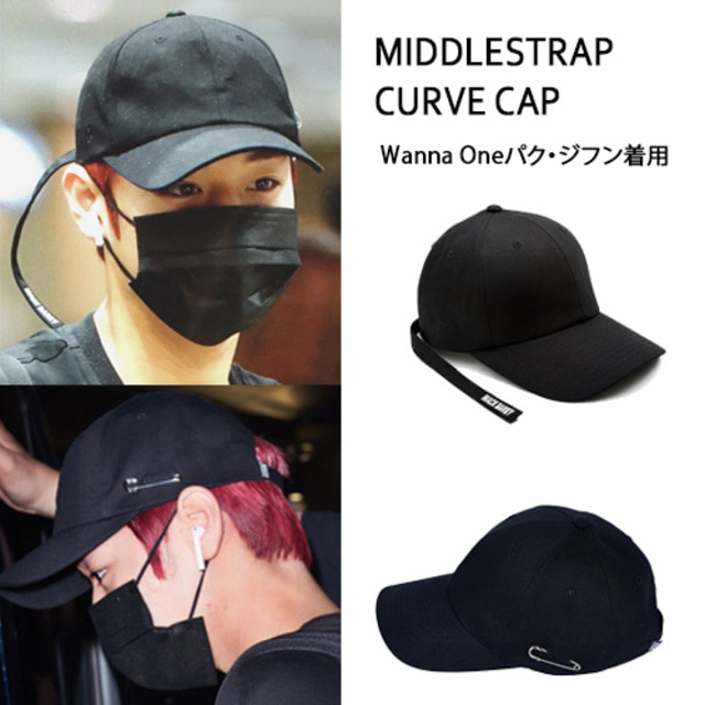 [MACK BARRY] MACK BARRY MIDDLESTRAP CURVE CAP_WANNAONE
