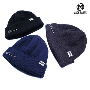 [MACK BARRY] MCBRY SHORT BEANIE 3COLOR