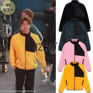 [EXOITEM] IZRO FLEECE ZIP UP 4COLOR