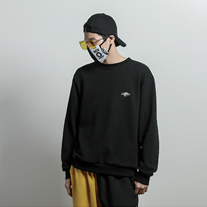 [JUSTO] ILLUSION SWEATSHIRT BLACK