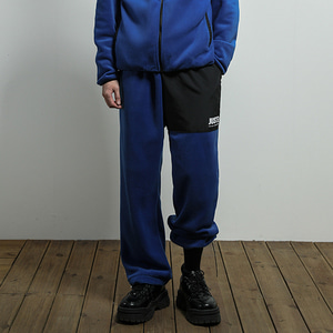[JUSTO] JUSTO FLEECE PANTS BLUE
