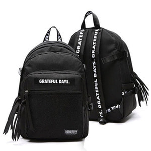 3D MESH BACK PACK M01 BLACK