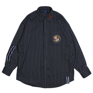 [ROMANTIC CROWN] 10TH CEREMONY TAPE SHIRTS NAVY