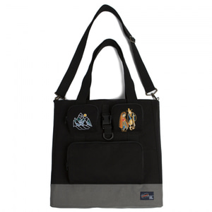 [ROMANTIC CROWN] 10TH 月下情人 TOTE BAG BLACK