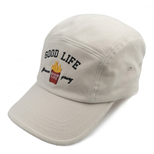 [ROMATIC CROWN] 10TH GOOD LIFE CAMP CAP OATMEAL