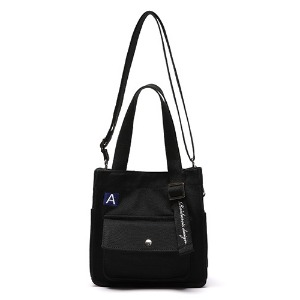 [ROIDESROIS] MINI A LAVEL CROSS BAG BLACK