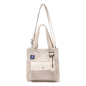 [5/27予約配送][ROIDESROIS] MINI A LAVEL CROSS BAG IVORY