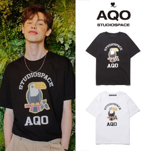 [AQOSTUDIO] AQO PARROT T SHIRT 2COLOR