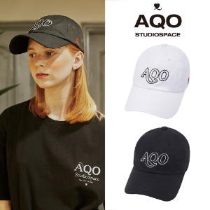 [AQOSTUDIO] AQO LOGO BALLCAP 2COLOR
