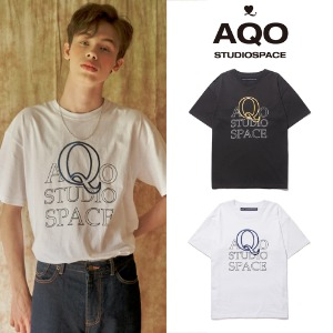 [AQOSTUDIO] AQO Q LOGO T SHIRT 2COLOR