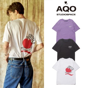 [AQOSTUDIO] AQO HEART T SHIRT 3COLOR