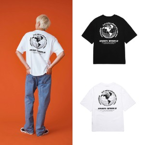 [UNION OBJET] UNION WORLD T-SHIRT 2COLOR