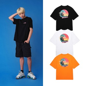 [UNION OBJET] UNION SUN WAVE T-SHIRT 3COLOR
