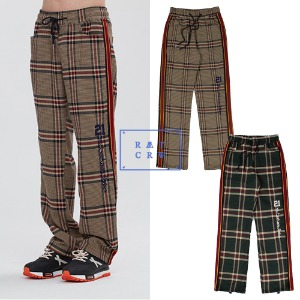 [ROMANTICCROWN] OLD CHECK SLACKS 2COLOR