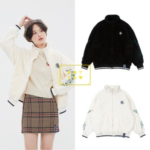 [ROMANTICCROWN] YETI ZIP UP JACKET 2COLOR