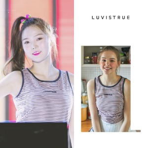 [LUV IS TRUE] LU STRING SLEEVELESS_OHMYGIRL