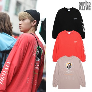 [BURIEDALIVE] BA BLOOD LONG SLEEVE 3COLOR