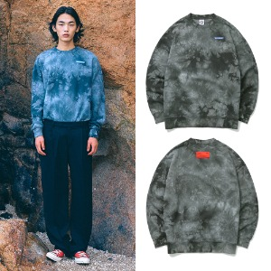 [BORNCHAMPS] BC TIE-DYE SWEAT SHIRT CESDMMT02GY