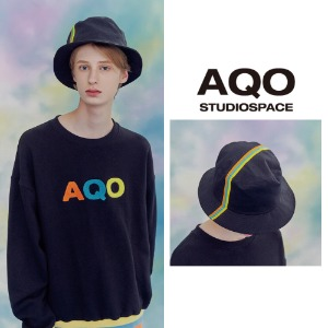 [AQOSTUDIO]AQO LUCKY BUCKET HAT BLACK