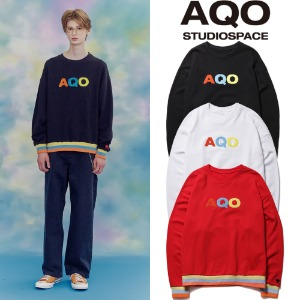 [AQOSTUDIO]AQO LUCKY SWEATSHIRTS 3COLOR