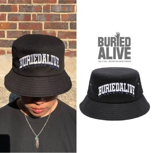 [BURIEDALIVE] BA OS LOGO BUCKET HAT BLACK