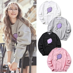 [CLOTTY]BIG CC SWEAT-SHIRT 4COLOR_少女時代