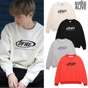 [BURIEDALIVE] BA CIRCLE LOGO SWEATSHIRTS 4COLOR