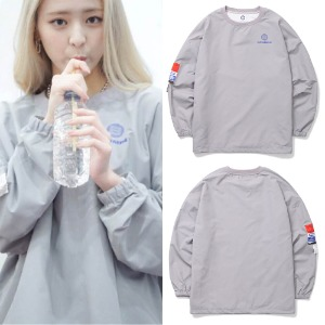 [BORNCHAMPS]  BC SCREEN WIND SWEAT SHIRT CESCMMT02GY_ITZY