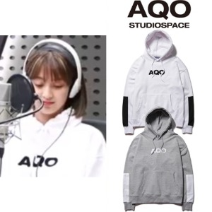 [AQOSTUDIO]AQO SIGNATURE HOODIE 2COLOR_TWICE