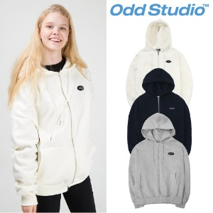 [ODDSTUDIO] STANDARD ZIP-UP HOODIE 3COLOR