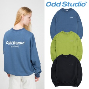 [ODDSTUDIO] BASIC SWEAT SHIRT 3COLOR