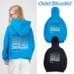 [ODDSTUDIO] WAVE HOODIE 2COLOR