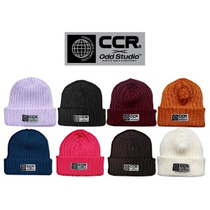 [ODDSTUDIO] CCRxODD COLLABO WARMTONE KNIT BEANIE 8COLOR