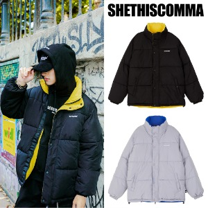 [SHETHISCOMMA] STC REVERSIBLE PARKA 2COLOR