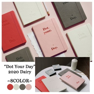 [BE ON D] 2020 DOT YOUR DAY DIARY 4COLOR