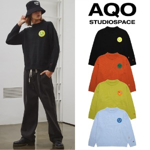 [AQOSTUDIO] AQOXTETRIS STANDARD FACE KNIT 4COLOR