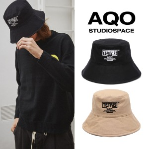[AQOSTUDIO] AQOXTETRIS WIDE BUCKET HAT 2COLOR