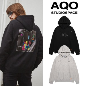 [AQOSTUDIO] AQOXTETRIS GAME HOODIE 2COLOR