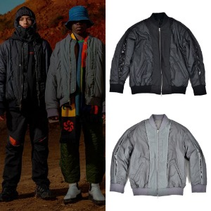[ANOMIECOMPLEX] REVERSE REVERSIBLE MA-1 JACKET 2COLOR