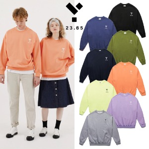[23.65] LOGO SWEAT SHIRT 8COLOR