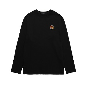[DXOHxUNION] DXOH X UNION LOGO LONG SLEEVE BLACK