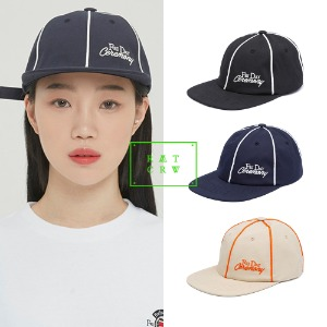 [ROMANTICCROWN] FRIDAY PIPING BALL CAP 3COLOR