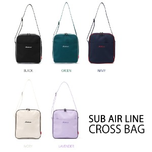 [ROIDESROIS] SUB AIR LINE CROSS BAG 5COLOR